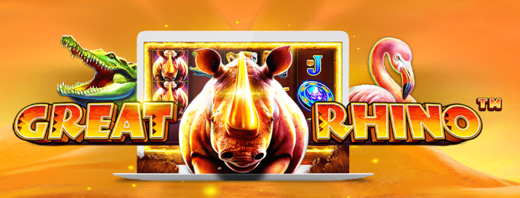 TradaCasino UK - 25 No Deposit Free Spins on Great Rhino Slot at Trada Casino