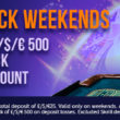 Cashback Weekends at Bright Star Casino