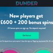 Get 20 bonus spins with no deposit at Dunder
