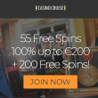 Get 55 Free Spins with no deposit at Casino Cruise