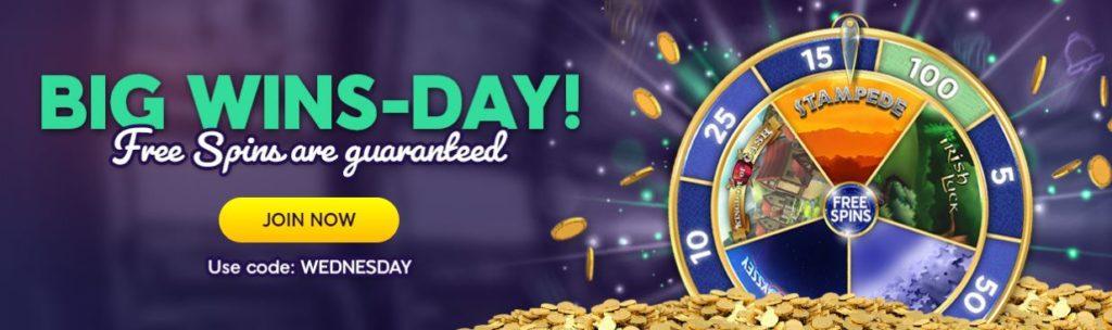 free spins wink slots 1024x304 - Guaranteed Free Spins at Wink Slots