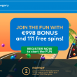 Have Fun! Get 11 Free Spins without deposit at Fun Casino!
