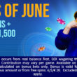 Jewels of June at Blue Fox Casino